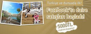 Facebook'tan ev alana 5000TL indirim
