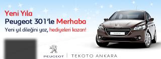 Peugeot 301'le yeni yıla merhaba