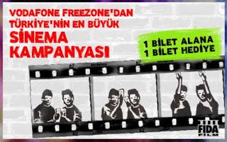 Vodafone FreeZone / Sinema Kampanyası