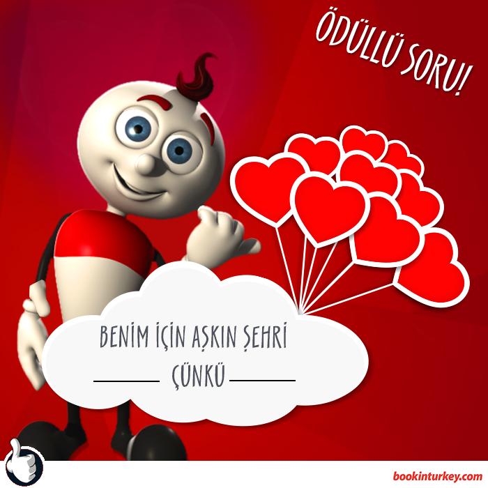 Bookinturkey'den Sevgililer Gününe Özel Yarışma!