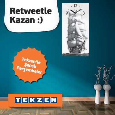 Tekzen – Retweetle Kazan !