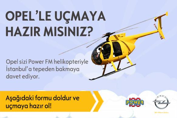 Opel - Uçmaya Hazır Mısınız? Kampanya görseli