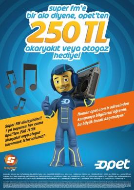 Süper FM, Alo Diyene 250 TL Akaryakıt