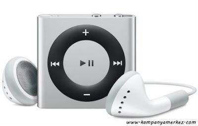 iPod Shuffle Hediye Kampanyamız Başladı!