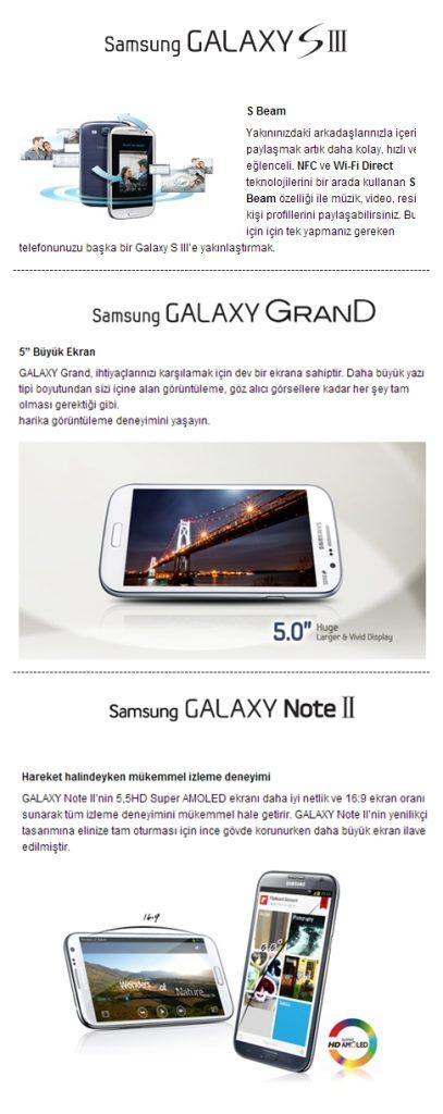Samsung Babalar Günü Alışveriş Kampanyasında İndirim Kazandıran Ürünler