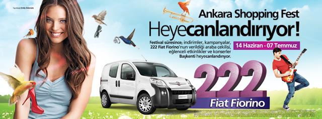 Ankara Shopping Fest'den 222 Araba Çekilişi