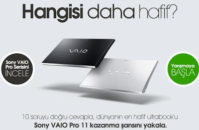 Sony'den VAIO Pro 11 Kampanyası Görseli