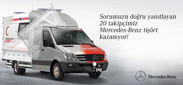 Mercedes Benz'den Tişört Kampanyası