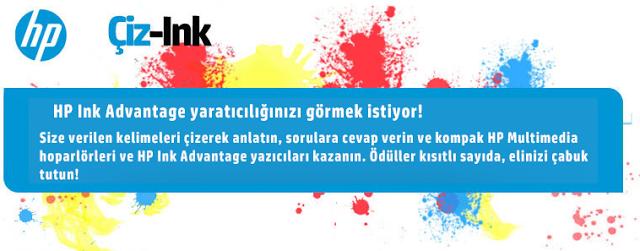 HP Yeni Kampanya: Çiz-Ink