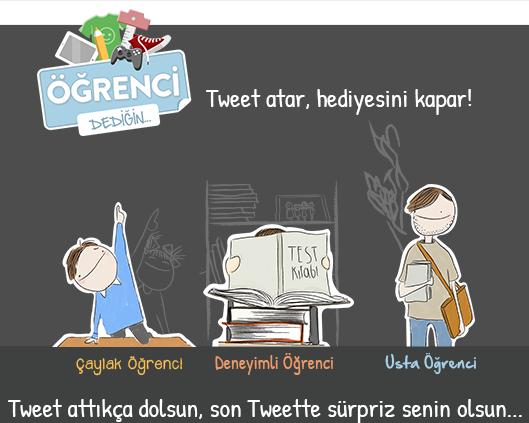 Gittigidiyor, #OgrenciDedigin Twitter Kampanyası
