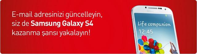 Akbank'tan Samsung Galaxy S4 Çekilişi
