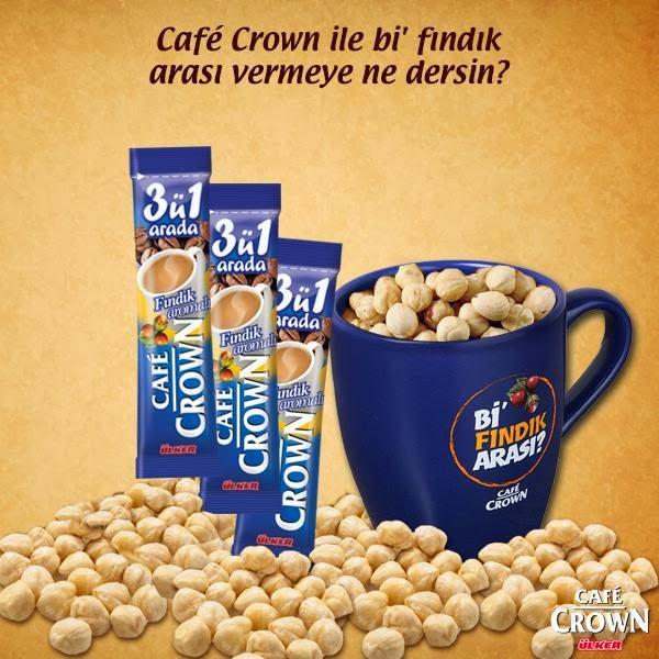 Café Crown'dan 10 Kişiye Hediye