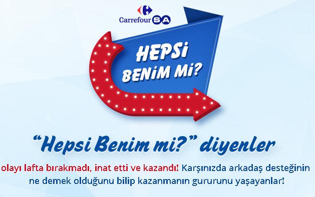 CarrefourSa 'Hepsi Benim Mi?' Kampanyası Sona Erdi