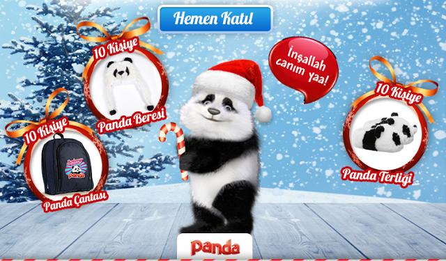 Panda yeni yıl kampanya ödülleri