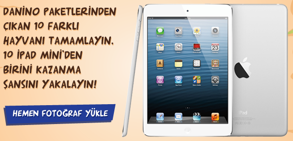 Danino'dan 10 Kişiye iPad Mini Hediye