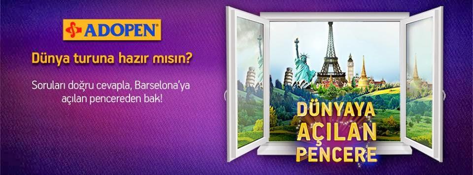 Dünyaya açılan pencere! (görsel)