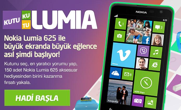 Avea'dan 150 Kişiye Nokia Lumia Aksesuarı Hediye