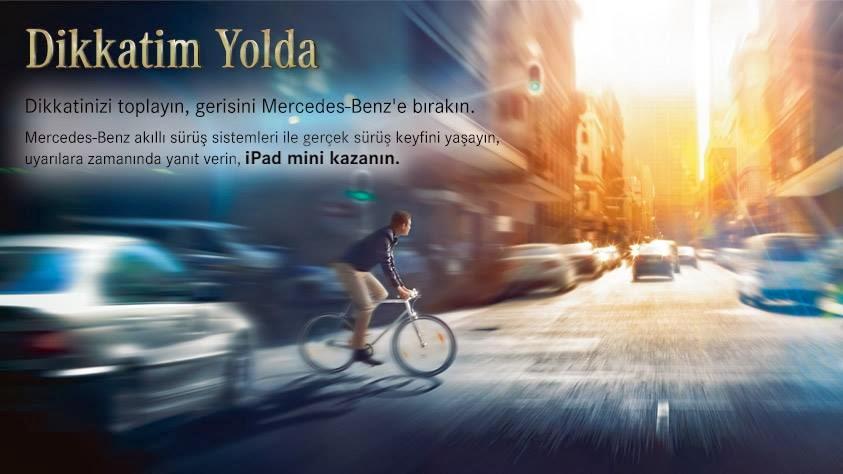 Mercedes-Benz iPad Mini Hediyeli Yarışması