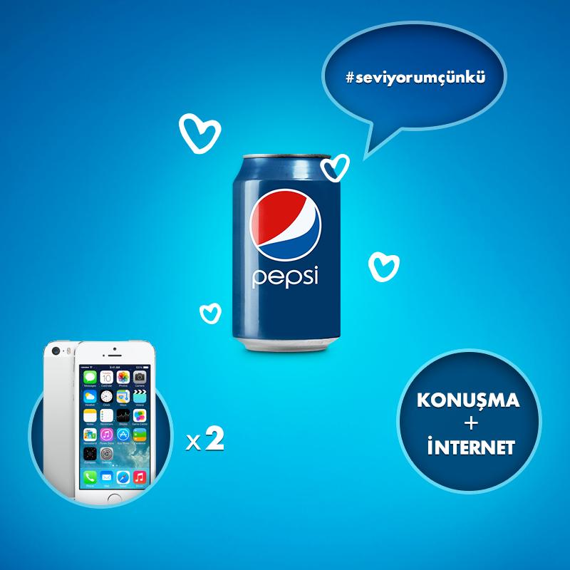 Pepsi Sevgililer Günü Kampanya Sonucu