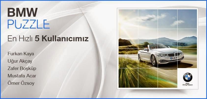 BMW Puzzle, Usb Bellek Kazandırıyor