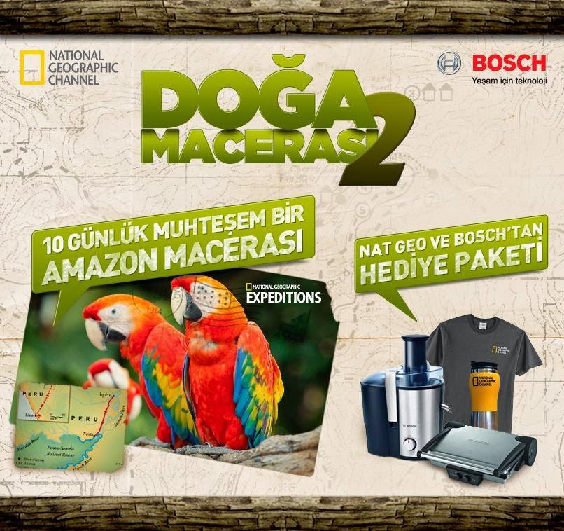 Bosch'dan Doğa Macerası 2