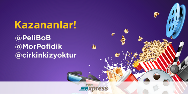 BKM Express'ten Çift Kişilik Bilet Kazananlar