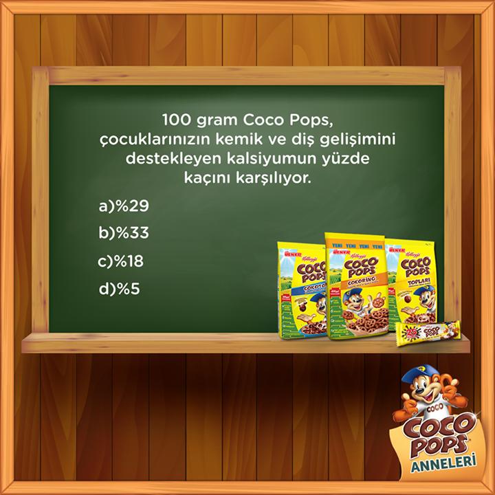 Coco Pops'tan 5 Kişiye Hediye Paketi
