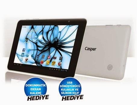 Casper tablet hediye görsel