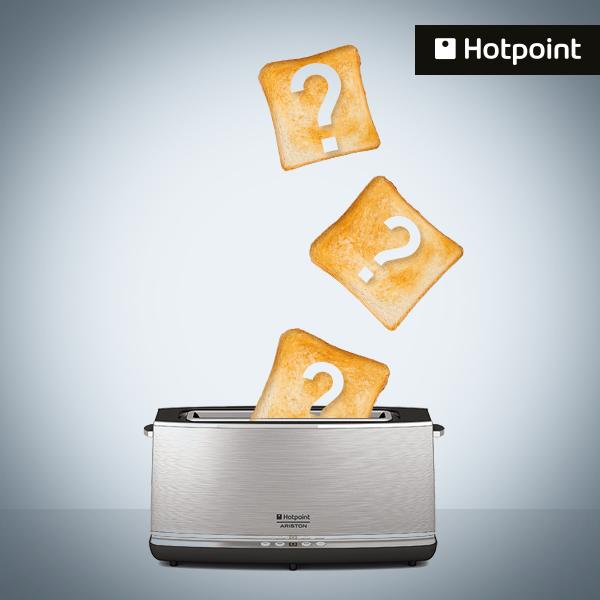 Hotpoint, Ekmek Kızartma Makinesi Hediye Ediyor