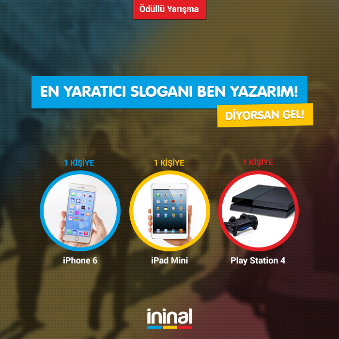 İninal Kart (26.01.2015 – 09.02.2015) Kampanyası