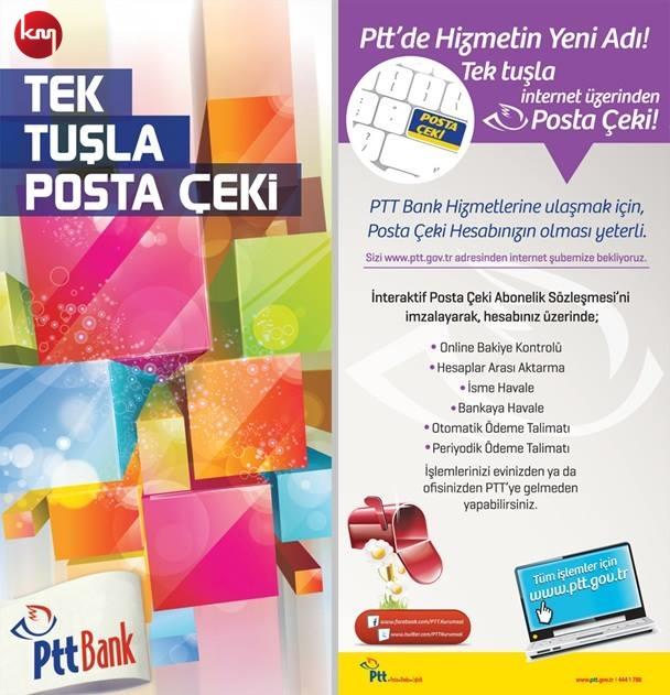 PTT (01.07.2015 – 03.07.2015) Kampanyası