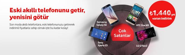 """Vodafone'dan """"Eskiyi Getir, Yeniyi Götür"""" Kampanyası"""