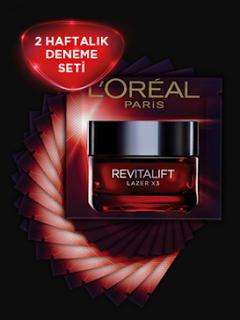 L'Oréal Paris'ten Revitalift Lazer Krem Kampanyası