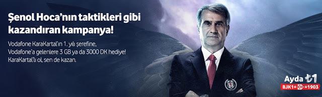 Vodafone KaraKartal 1.Yıl Kampanyası