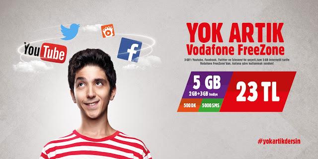 Vodafone FreeZone'dan Yok Artık Dedirten Kampanya