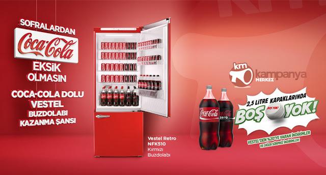 Coca Cola Vestel Buzdolabı Kazananları