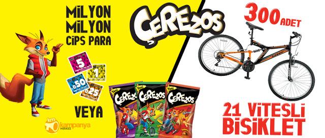 Çerezos 300 Bisiklet Kampanyası