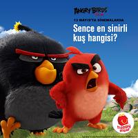 McDonald's Angry Birds Oyuncak Seti Kazandırıyor