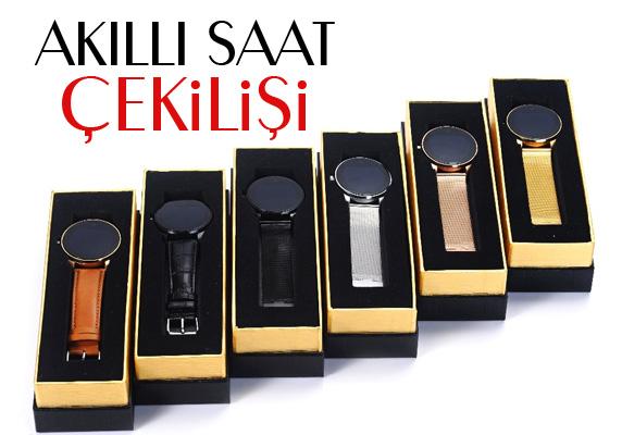 Türkiye'de ilk kez Akıllı Saat (Smartwatch) çekilişi kampanyamerkez'de