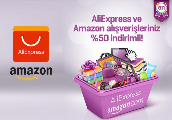 Finansbank Enpara ile Aliexpress ve Amazon alışverişlerinde yüzde 50 indirim