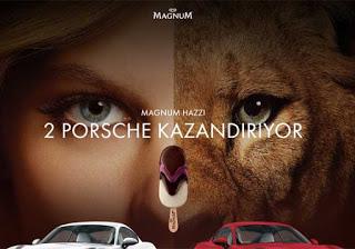 Magnum Porsche çekilişi 2017 şifre göndermek için zaman azalıyor