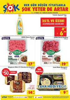 Şok market 12-18 Temmuz indirimli düşük fiyatlı ürünler