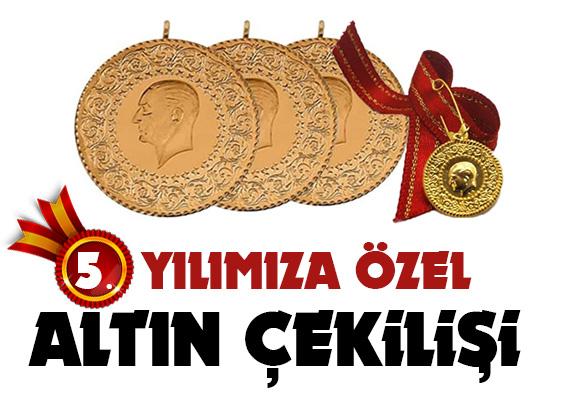 Kampanyamerkez 5. Yılına özel Altın Çekilişine katılın