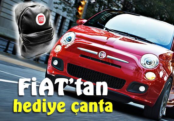 Fiat servislerine gelin hediye sırt çantanızı alın