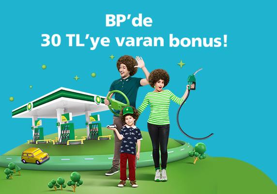 Bonus Paracart ile BP alışverişinizden 30 TL Bonus kampanyası
