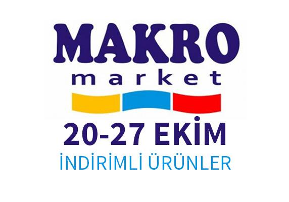 Makro marketlerinde 20-27 Ekim aktüel ürünleri