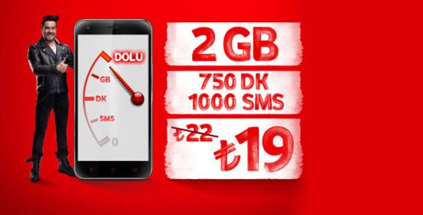 Vodafone faturasız internet kampanyası
