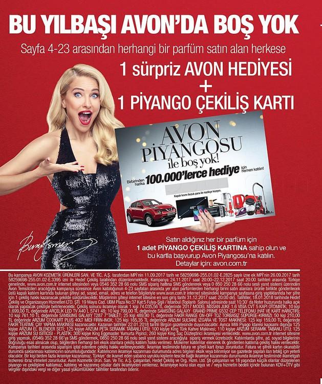 Avon 24 Kasım-22 Aralık Kataloğu