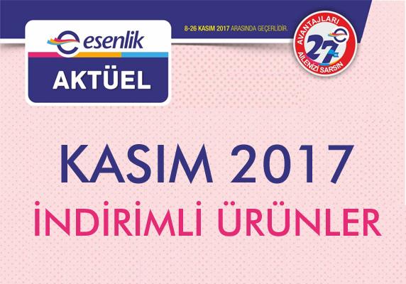 Esenlik market indirim – Kasım 2017