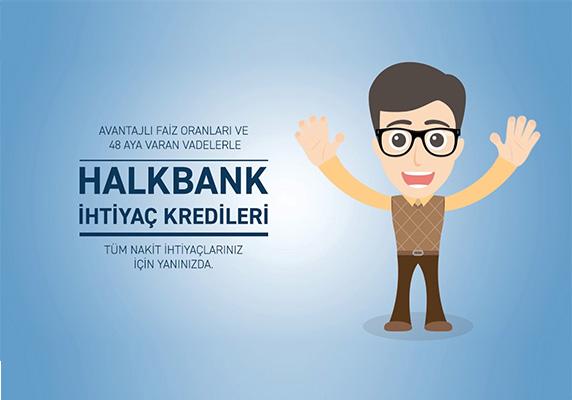 Halkbank acil nakit ihtiyaç kredisi kampanyası